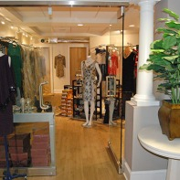 downstairs, salon, boutique, dress, shoe