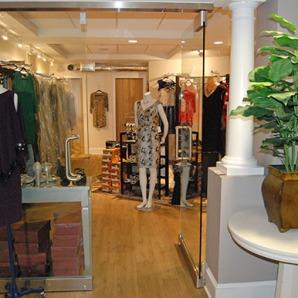 downstairs, salon, boutique, dress, shoe